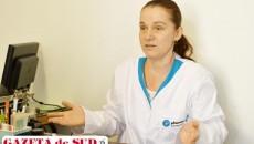 Medicul Mirela Profir, secretar general al Societăţii de Medicină de Familie Dolj