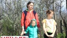 Silvia Ştefan - fugită de acasă împreună cu cei patru copii