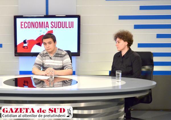 Alex Carauleanu si prof Hilda Modora
