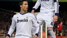 """Cristiano Ronaldo şi Sergio Ramos au bifat """"dubla"""" pe terenul lui Bayern şi au calificat-o pe Real Madrid în finala Ligii Campionilor"""