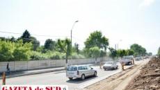 În spatele acestui gard de pe strada Caracal, chinezii vor construi cartierul de locuinţe