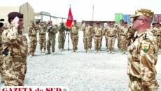 """""""Scorpionii Roşii"""" vor fi înlocuiţi în Afganistan de militarii Batalionul """"Şoimii Carpaţilor"""" din Bistriţa (Foto: Lt-col. Oliver Anghel)"""
