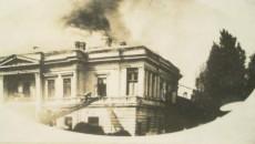 Teatrul a fost mistuit de flăcări şi în 1927