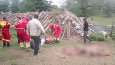 Medicul echipajului SMURD sosit de la Craiova nu a putut decât să constate decesul ciobanului