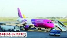 Wizz Air operează zboruri şi de pe Aeroportul din Craiova
