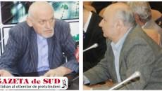 Raportul întocmit de Victor Lazarciuc (stânga), directorul SCM, nu l-a mulţumit pe consilierul local Ionel Pană