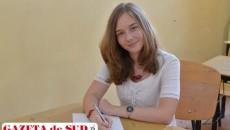 """Marta Ungureanu, elevă a Colegiului Național """"Carol I"""" din Craiova, premiată cu medalie de argint la Concursul Internațional de Matematică """"Arhimede"""""""
