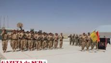 """Militarii Batalionului 20 Infanterie """"Scorpionii Negri"""" din Craiova, la încheierea misiunii din provincia Zabul, Afganistan"""