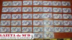 Cei trei doljeni au fost acuzați că au falsificat 140 de bancnote de 100 de lei și 41 de bancnote de 50 de lei