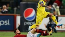 Adrian Stoian (în galben) a revenit la Bari