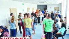 Policlinica Spitalului Județean este şi mai aglomerată de la 1 iunie