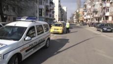 În Craiova, agenții de la Locală care se ocupă de circulația pe drumurile publice au caschete albe
