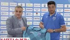 Cristi Bălgrădean este bucuros că va îmbrăca tricoul echipei CS Universitatea Craiova