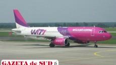 Aeronava Wizz Air se pare că a lovit o pasăre