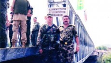Comandantul Ilie Lupu, în misiunea pe care batalionul românesc de geniu a avut-o în Bosnia-Herţegovina, sub egida NATO