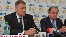 Klaus Iohannis şi Vasile Blaga au anunţat că vor iniţia o moţiune de cenzură în sesiunea parlamentară care începe luni