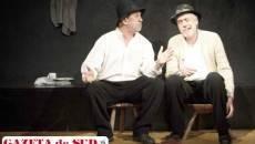 """George Mihăiță și Marcel Iureș, în spectacolul """"Păi… despre ce vorbim noi aici, domnule?"""""""