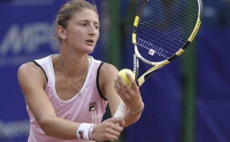 Irina Begu a fost învinsă în optimile probei de simplu de ucraineanca Lesia Țurenko