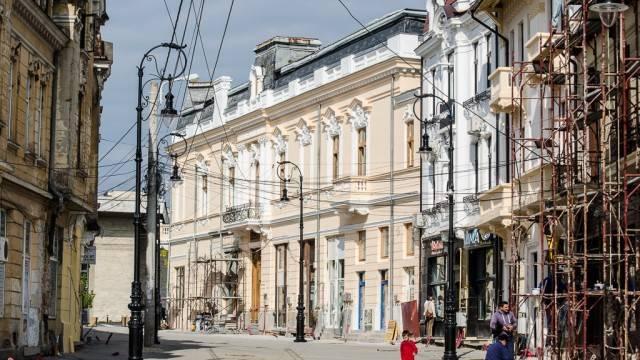 Strada Panait Moşoiu devine pietonală