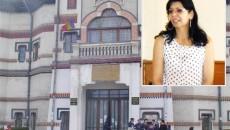 """Decanul Delia Bîcă (foto medalion) susţine că unii studenţi de la Universitatea """"Constantin Brâncuşi"""" din Târgu Jiu au fost nemulţumiţi că au picat licenţa în Bucureşti"""