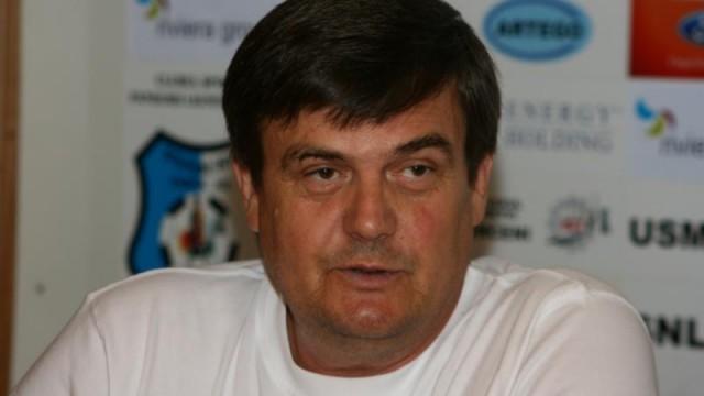 Marin Condescu, fostul preşedinte al clubului de fotbal Pandurii Târgu Jiu
