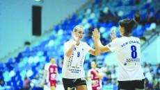 Handbalistele craiovene au obţinut a opta victorie din acest sezon