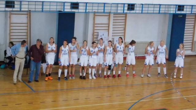 Jucătoarele de la SCM-CSS Craiova au câştigat doar un sfert în disputa cu Rapid Bucureşti