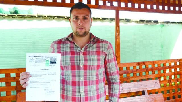 Cosmin Drăgan susţine că a fost lovit de căpitanul echipei Avântul Giubega