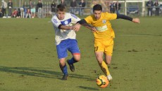Andrei Sin (în galben) a fost cu două clase peste toți ceilalți jucători de pe teren