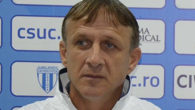 Emil Săndoi, împăcat cu remiza