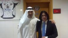 Robert Cristian Trif (dreapta) ar putea fi patron de club în Dubai
