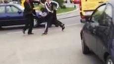 Cei patru bărbați s-au luat la bătaie într-un sens giratoriu din Craiova
