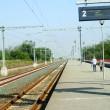 Eurogara Golenți are peroane moderne și linie electrică