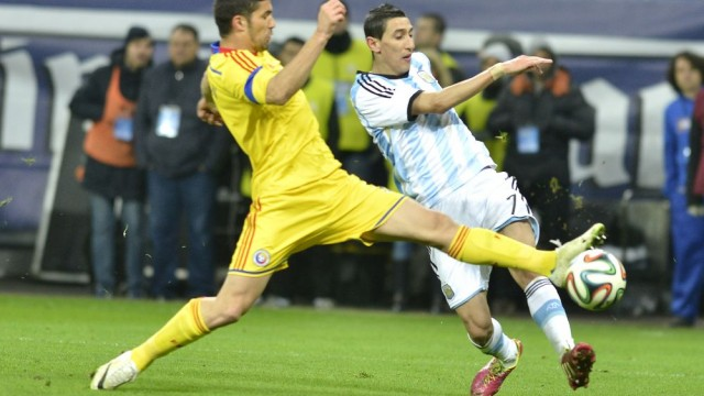 Luchin (galben) nu se teme de reprezentativa Ungariei