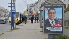 """Panourile cu publicitate electorală din Craiova pe care scrie """"Doar Ponta a scăzut taxele!"""" nu ilustrează realitatea din economie"""