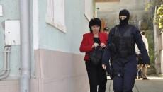 Prim-procurorul Parchetului de pe lângă Judecătoria Orşova, Carmen Sârboiu ridicată marţi de la domiciliul său din Drobeta Turnu Severin