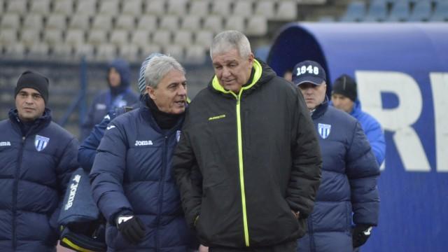 Sorin Cârţu (foto stânga) i-a citit gândurile lui Florin Marin în privinţa tacticii de joc