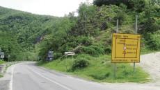 Traficul rutier se desfășoară în regim de șantier