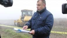 Marius Firan se plângea ieri că Transgaz a intrat cu forța pe terenul său