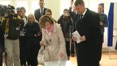 Klaus şi Carmen Iohannis au votat pentru România lucrului bine făcut