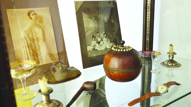 Obiecte care au aparținut pictorului
