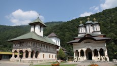 poza Manastirea Lainici