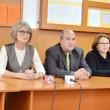 """Reprezentanţii Şcolii Speciale """"Sf. Mina"""" alături de Liviu Ionescu, preşedintele Centrului Naţional de Educare Canină"""