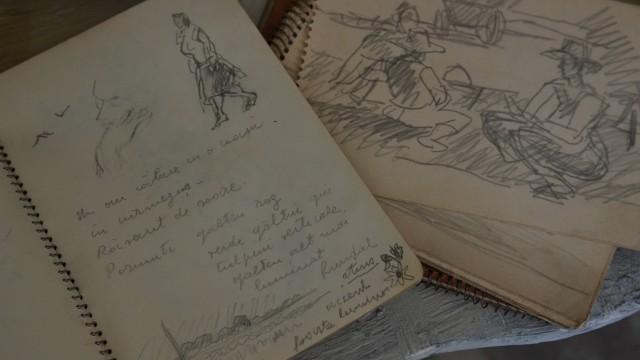 Schițe și însemnări făcute de Henri H. Catargi