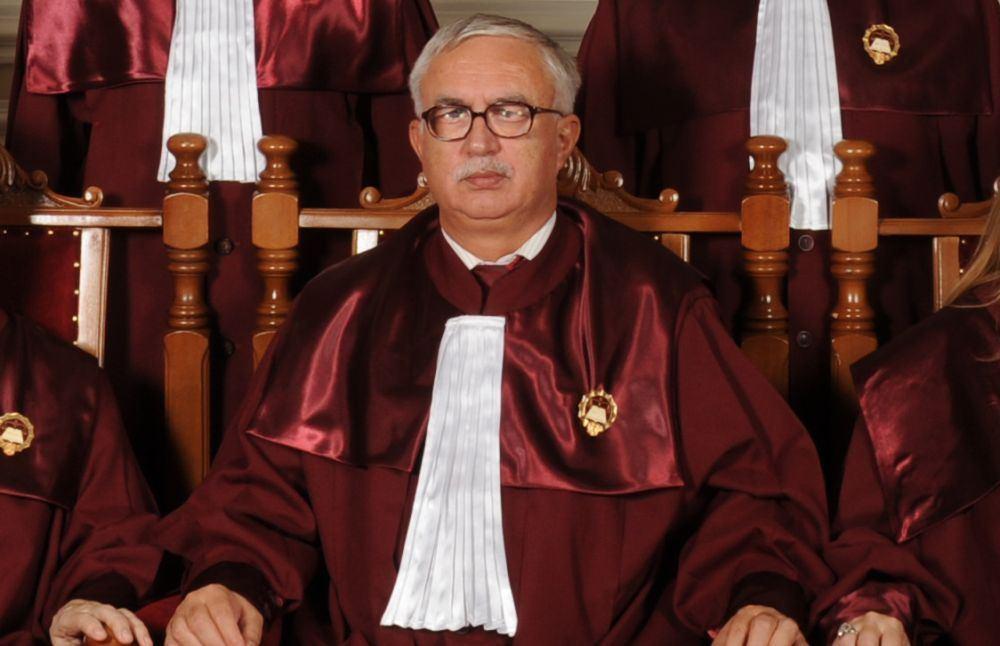 Preşedintele Curţii Constituţionale, Augustin Zegrean