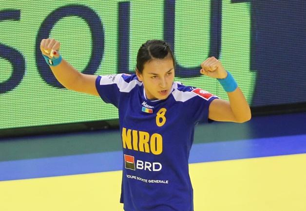Cristina Neagu a fost principala marcatoare a echipei României