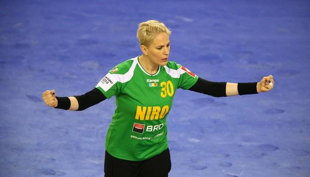 Paula Ungureanu a avut parade de senzaţie, fiind cea mai bună jucătoare a naţionalei României