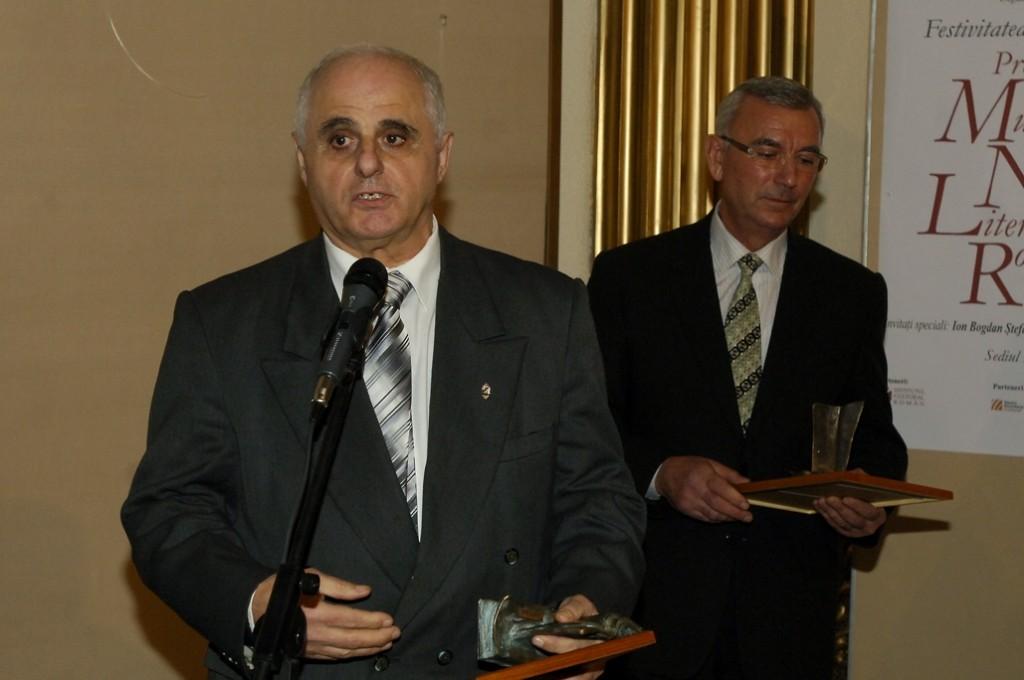 Cei doi craioveni premiaţi de Muzeul Naţional al Literaturii Române, Tudor Nedelcea şi Toma Velici