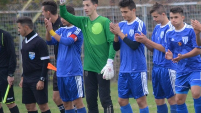 Portarul Andrei Vlad, convocat la naționala Under 16 (foto: csuc.ro)
