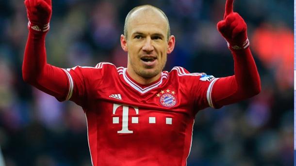 Arjen Robben scrie istorie în tricoul lui Bayern Munchen